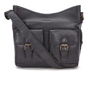 Barbour Women's Slateford Leather Shoulder Bag - Black