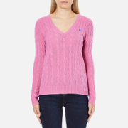 Polo Ralph Lauren Womens Kimberly Cashmere Blend Jumper  Wesley Pink Heather  S