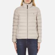 Polo Ralph Lauren Womens Lightweight Nylon Puffa Coat  Chrome Grey  XL