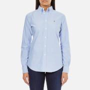 Polo Ralph Lauren Womens Harper Shirt  Blue  L