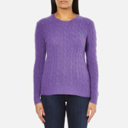 Polo Ralph Lauren Womens Julianna Cashmere Blend Crew Neck Jumper  Spencer Purple  L