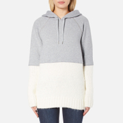 Sportmax Women's Aladino Knitted Hoody - Medium Grey