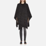 MICHAEL MICHAEL KORS Women's Twill Blanket Poncho - Grey