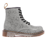 Dr. Martens Kids' Delaney ASP Viper Lace Boots - Light Grey