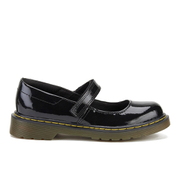 Dr. Martens Kids' Maccy Patent Leather Mary Jane Shoes - Black