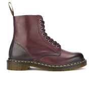 Dr. Martens Men's Core Pascal Leather 8-Eye Lace Up Boots - Cherry Red