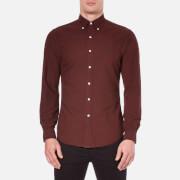 Polo Ralph Lauren Men's Long Sleeve Button Down Shirt - Harvard Wine