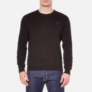 Polo Ralph Lauren Mens Crew Neck Knitted Sweatshirt  Polo Black  S