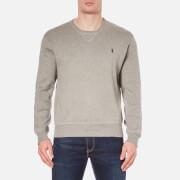 Polo Ralph Lauren Men's Crew Neck Knitted Sweatshirt - Fawn Grey Heather