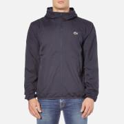 Lacoste Men's Showerproof Lightweight Jacket - Navy Blue