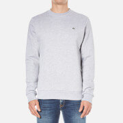 Lacoste Men's Sweatshirt - Silver Chine