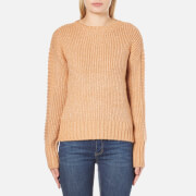 MINKPINK Women's By The Fire Zip Back Sweatshirt - Blush - L - Salescache