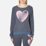 Wildfox Women's Faded Love Baggy Beach Sweatshirt - After Midnight Blue - S