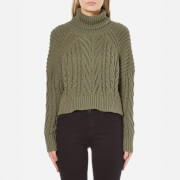 C/MEO COLLECTIVE Women's Two Can Win Jumper - Khaki - L/UK 12