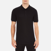 Versace Collection Men's Shoulder Detail Polo Shirt - Nero - M