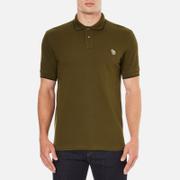 PS by Paul Smith Mens Regular Fit Zebra Polo Shirt  Khaki  S