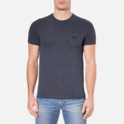 Superdry Men's Orange Label Vintage Pop Grit T-Shirt - Indigo Blue Grit