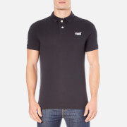 Superdry Men's Classic Pique Short Sleeve Polo Shirt - Eclipse Navy