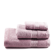 Restmor 100% Egyptian Cotton 3 Piece Towel Bale - Mauve