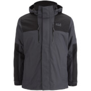 Jack Wolfskin Men's Jasper 3-in-1 Jacket - Ebony