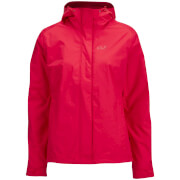 Jack Wolfskin Women's Crush 'N' Ice 3-in-1 Jacket - Hibiscus Red - S
