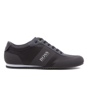BOSS Green Men's Lighter Mesh Trainers - Dark Grey