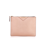 Karl Lagerfeld Women's K/Klassik Big Pouch - Metallic Rose
