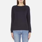 Levi's Women's Classic Crew Sweatshirt - Nightwatch Blue - XS