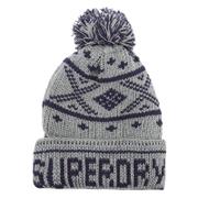 Superdry Men's Oban Beanie Hat - Dark Marl/Navy