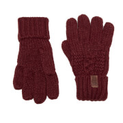 Superdry Women's North Gloves - Dark Rust