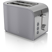 Swan ST17020GRN 2 Slice Retro Toaster - Grey