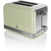 Swan ST19010GN 2 Slice Toaster - Green