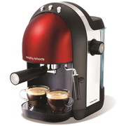 Morphy Richards Accents Espresso Machine - Red