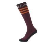 Santini California Eroica High Profile Wool Socks - Blue
