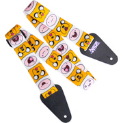 Adventure Time Finn and Jake Fabric Guitar Strap - Salescache