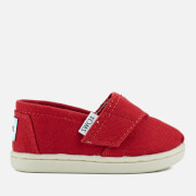 TOMS Toddlers' Seasonal Classics Slip-On Pumps - Red - UK 5/US 6 Toddlers - Red