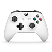 Image of Microsoft Xbox Bluetooth Controller for Xbox One S/Xbox One and PC - White