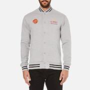 Billionaire Boys Club Men's Vegas Cotton Varsity Jacket - Heather Grey - L