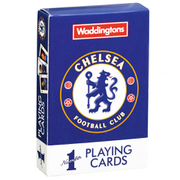 Image of Waddingtons Number 1 Playing Cards - Chelsea F.C Edition
