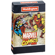 Image of Waddingtons Number 1 Playing Cards - Marvel Comics Retro Edition