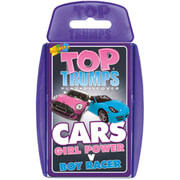 Classic Top Trumps - Girl Power vs. Boys Cars