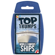 Image of Top Trumps Card Game - World Famous Ships Edition