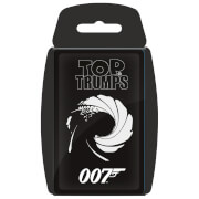 Image of Top Trumps Card Game - 007 Edition
