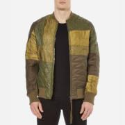 Maharishi Mens Upcycled Liner Jacket  Olive  XL