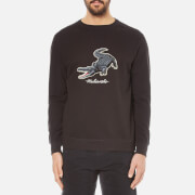Maharishi Men's Croc Crew Neck Sweatshirt - Black