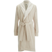 UGG Women's Heritage Comfort Duffield Dressing Gown - Oatmeal Heather