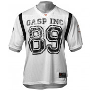 GASP Football Jersey - White