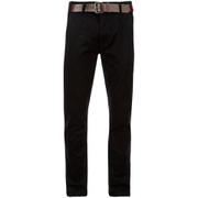 Chino Slim Smith & Jones pour Homme Ashlar -Noir Sergé