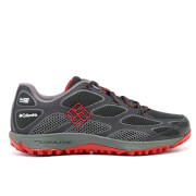 Columbia Men's Conspiracy IV Outdry Hiking Shoes - Black/Bright Red - UK 8