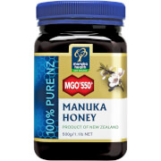 Мед манука с содержанием метилглиоксаля более 550 мг/кг MGO 550+ Pure Manuka Honey Blend - 500g  - Купить